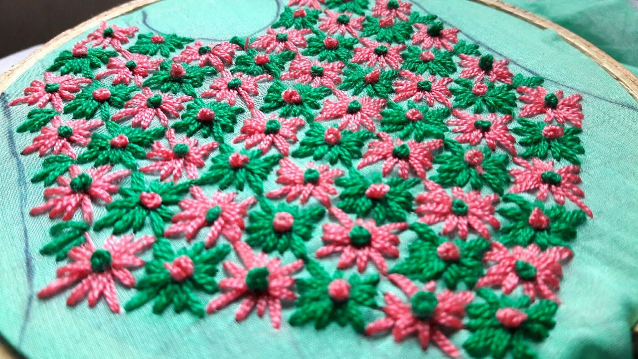 chicken stitch for kurti neck