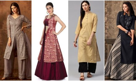 Trendy ways to match up a kurti