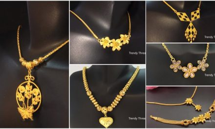 Latest simple and light weight gold chain designs