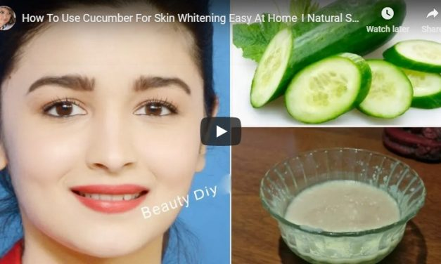 How to use cucumber for skin whitening easy at home