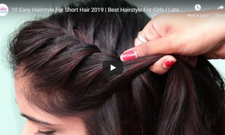 10 easy hairstyle for short hair 2019
