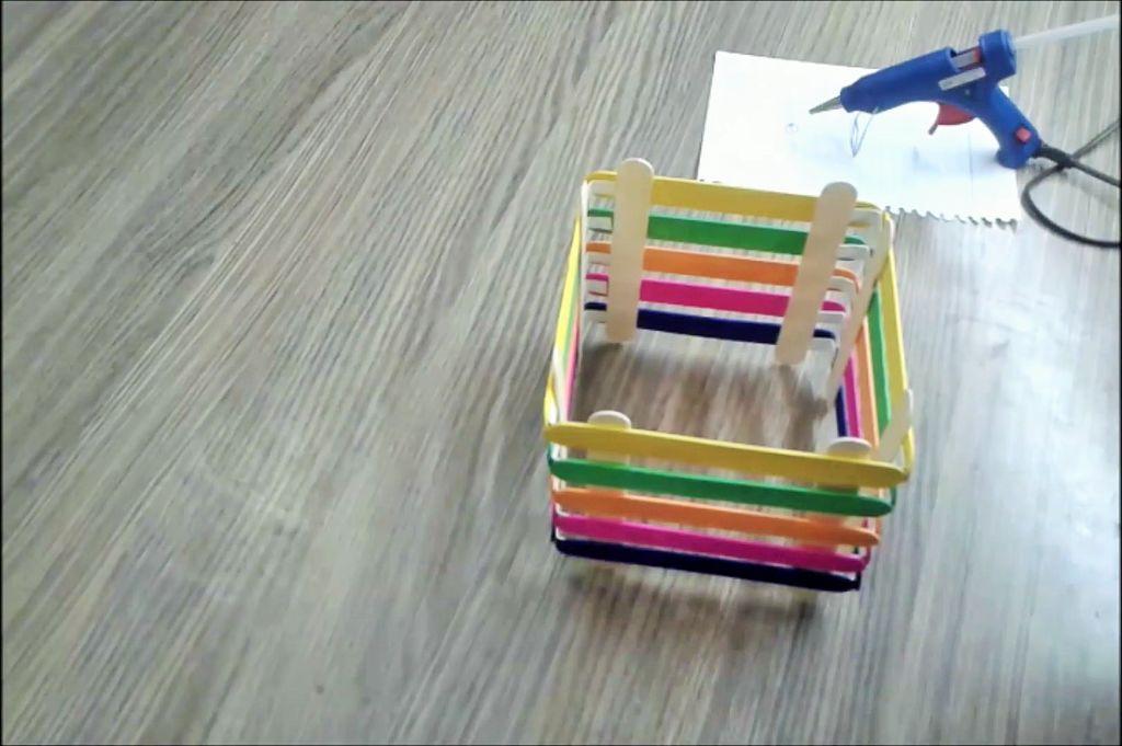 Ice Cream Stick Box