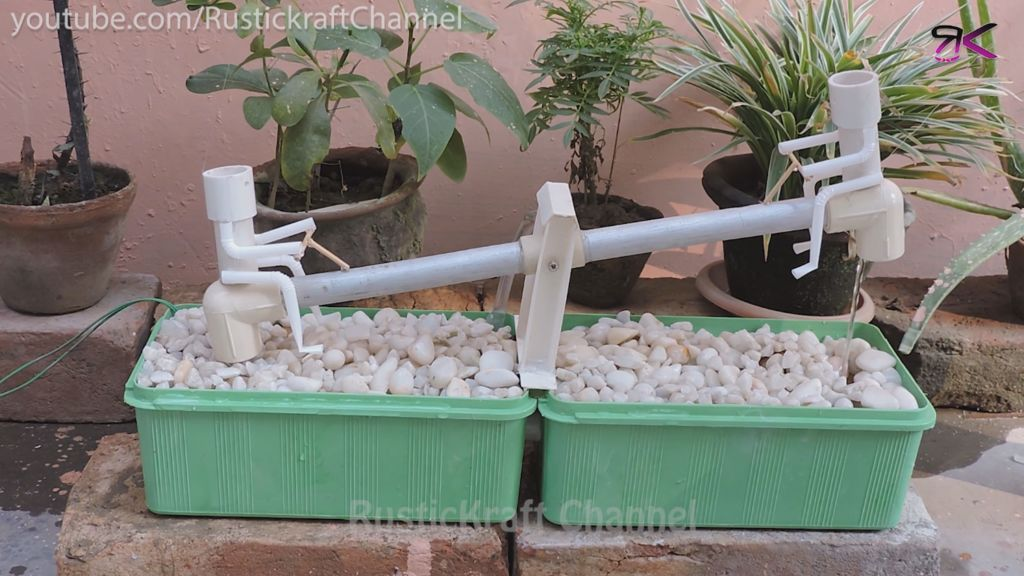 Garden See-Saw Water
