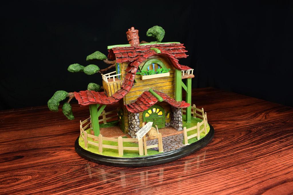 Rustic House Lamp