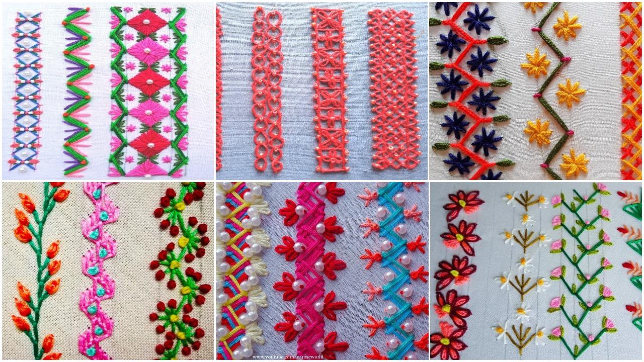 borderline embroidery tutorial