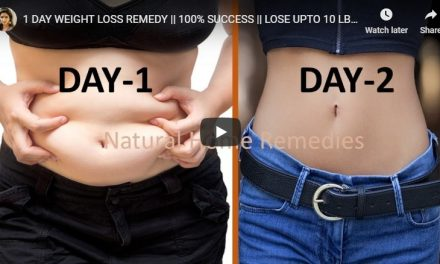 1 Day weight loss remedy