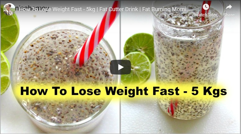 How to lose weight fast - 5kg
