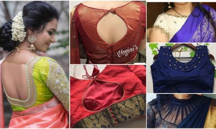 Designer blouse images that will blow your minds