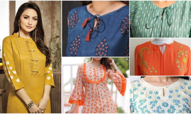 Latest designs of designer kurti pattern