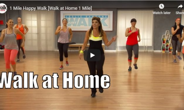 1 Mile walk at home for weight loss
