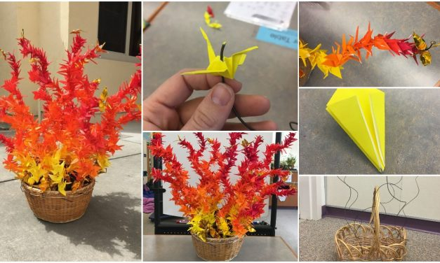How to make origami fire – 1000 Paper cranes