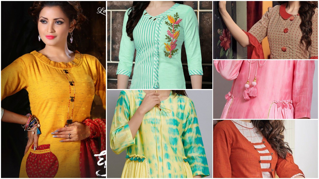 Latest kurti designs for stitching
