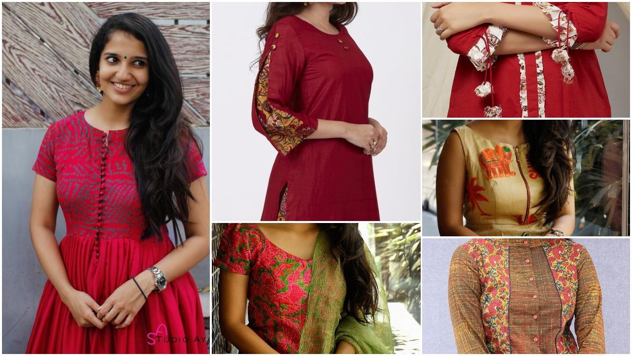 Beautiful ladies latest designs kurti