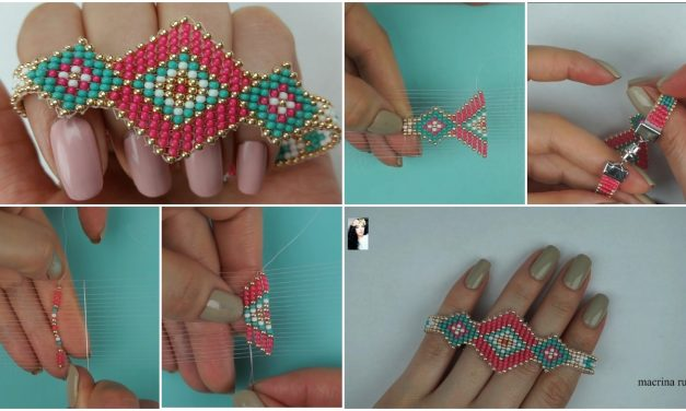 How to make mostacillas bracelet