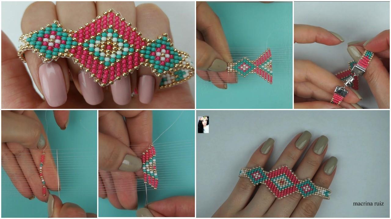 mostacillas bracelet