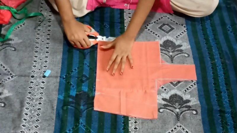 princess cut blouse