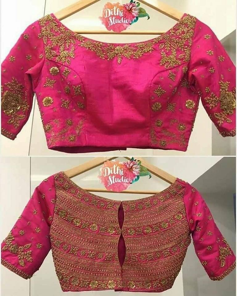 Trendy Blouse Design