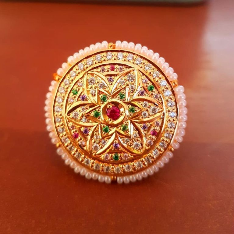 Latest Designs Of Gold Rings For Women