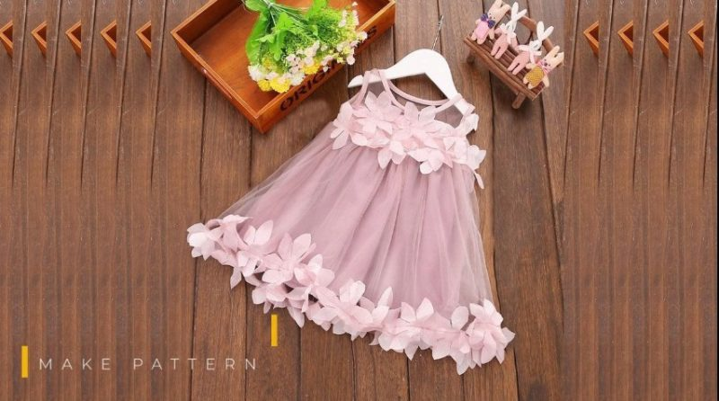 Flower kids dresses