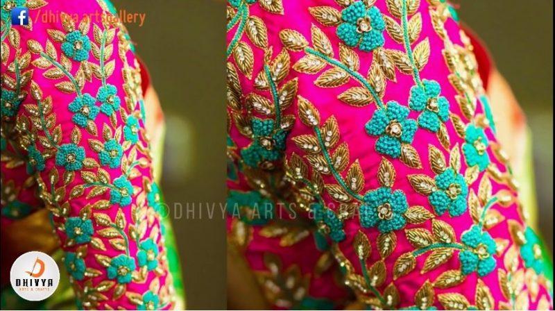 aari work blouse