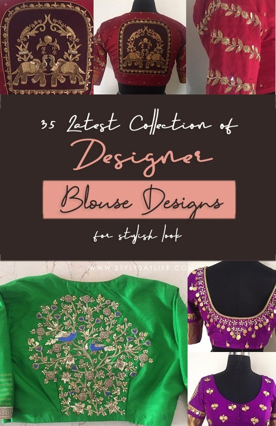 Designer Blouse Designs