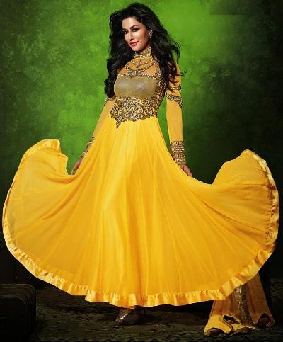 Yellow Salwar kameez