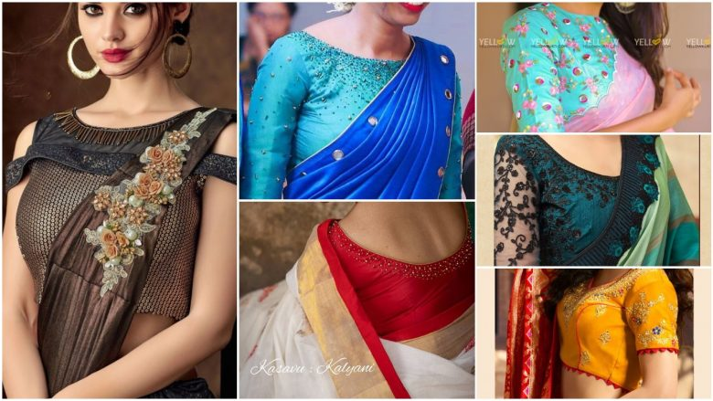Trendy And Stylish Blouse Designs Simple Craft Ideas