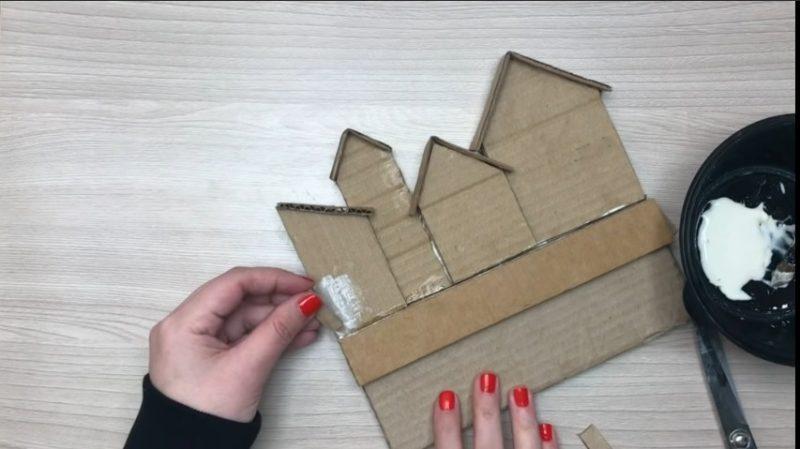 cardboard key holder