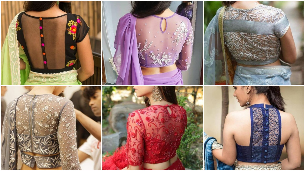 Latest Back Net Blouse Designs For Lehenga And Saree 2020 Simple Craft Ideas,Sample Game Design Document Example