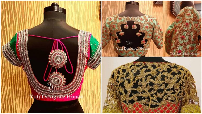 blouse designs for silk sarees