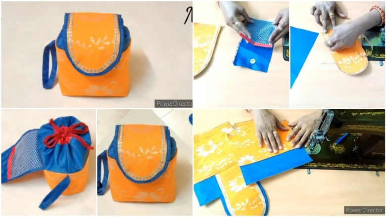 Multi purpose pouch tutorial