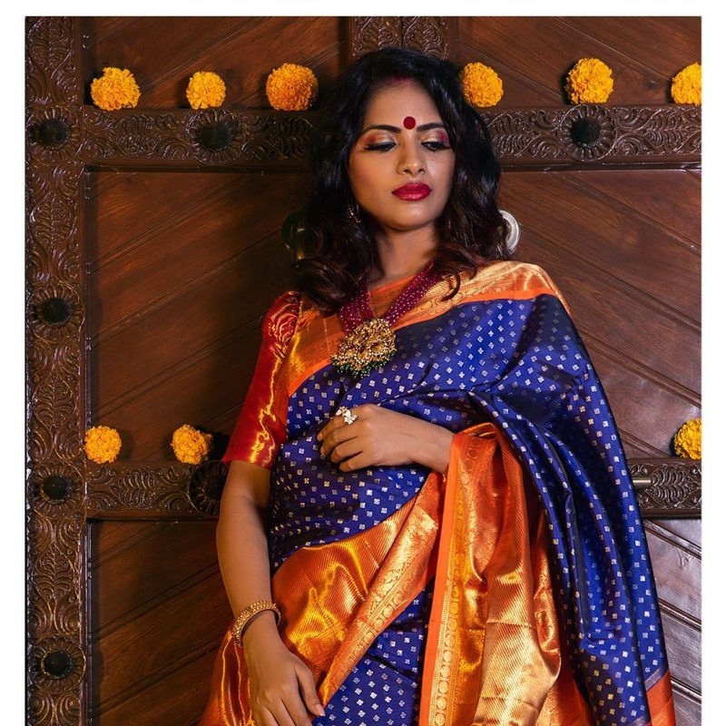 Style Your Silk Sarees