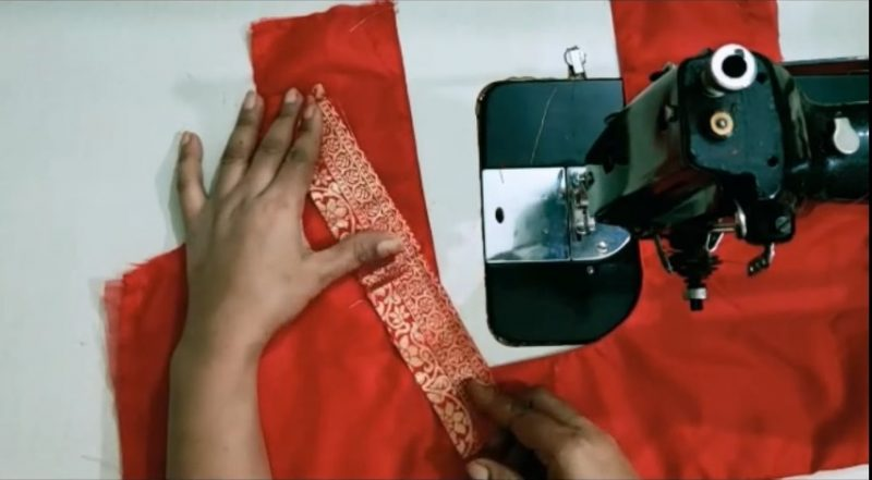 blouse cutting and stitching