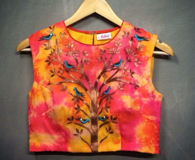 Nature Inspired Blouse