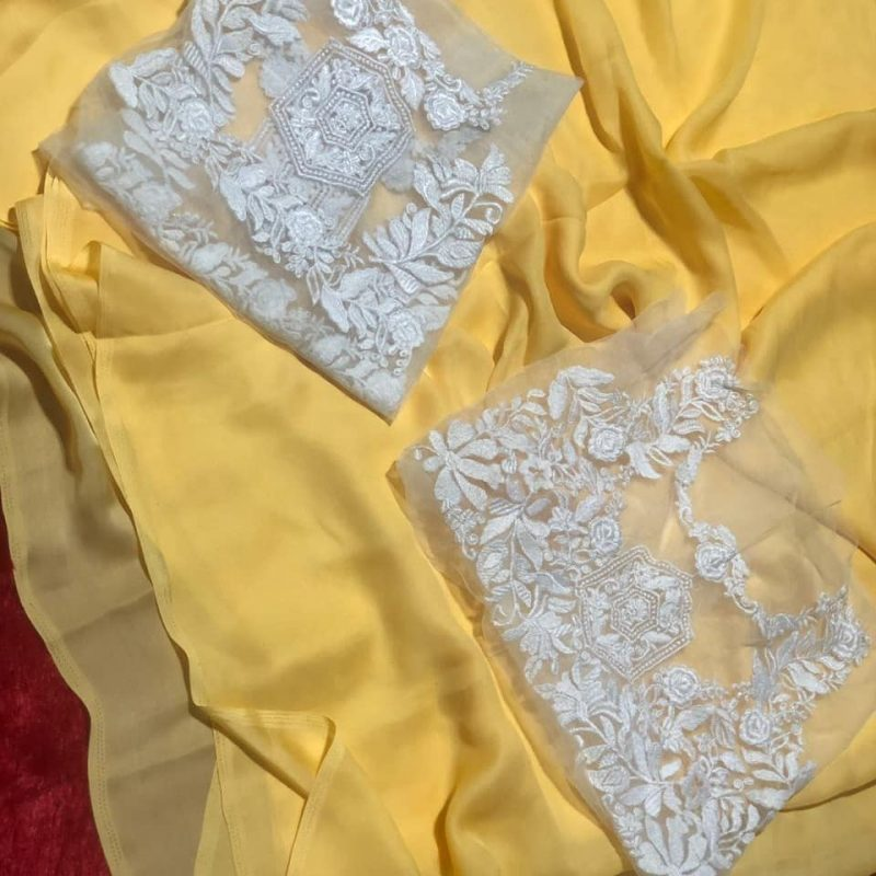 Blouse Designs with Net