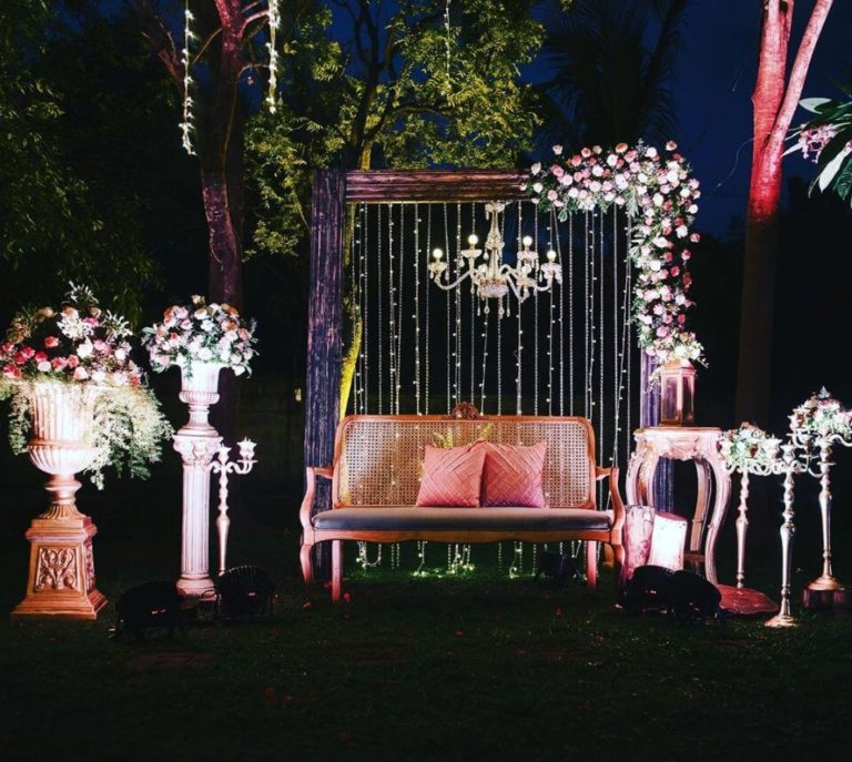 Bridal Chair Decoration