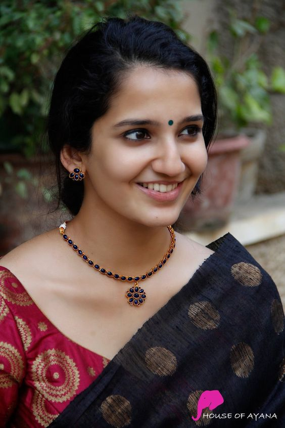 South Indian blouse designs 10