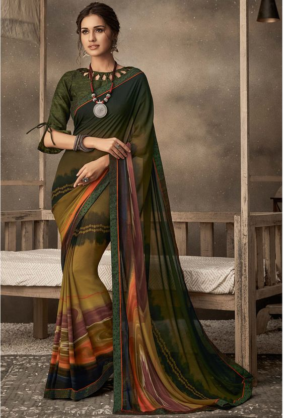 South Indian blouse designs 4