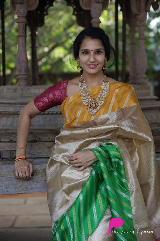 South Indian blouse designs 6