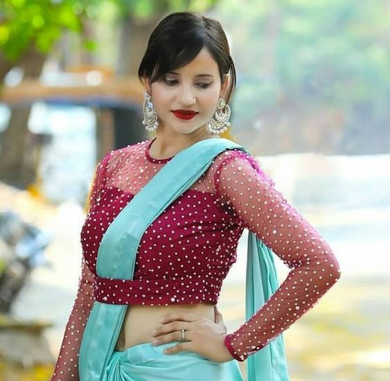South Indian blouse designs 7