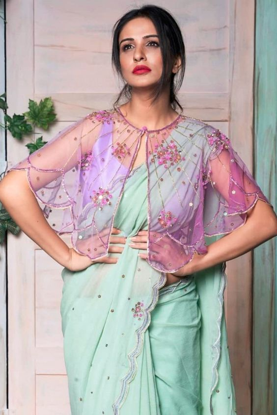 South Indian blouse designs 9