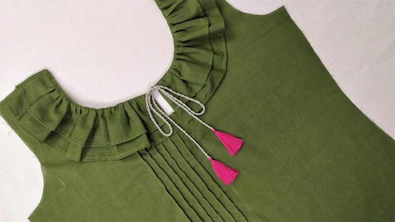 neck design cutting and stitching