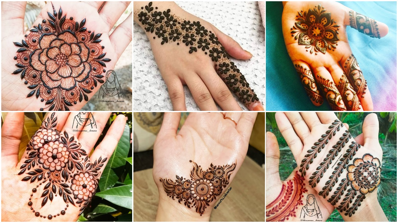 Simple Arabic Mehndi Designs That Will Blow Your Mind Simple Craft Ideas,Cool Minecraft Farm Designs