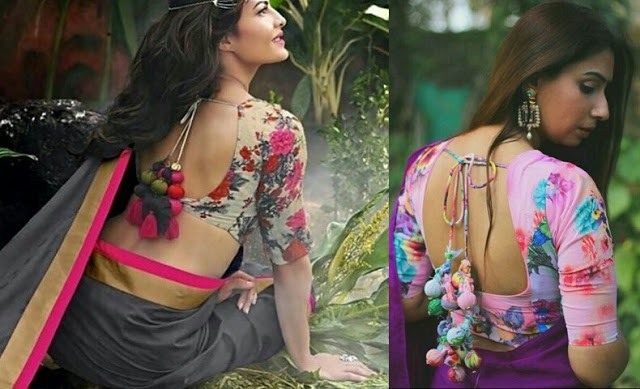 Printed Saree Blouse