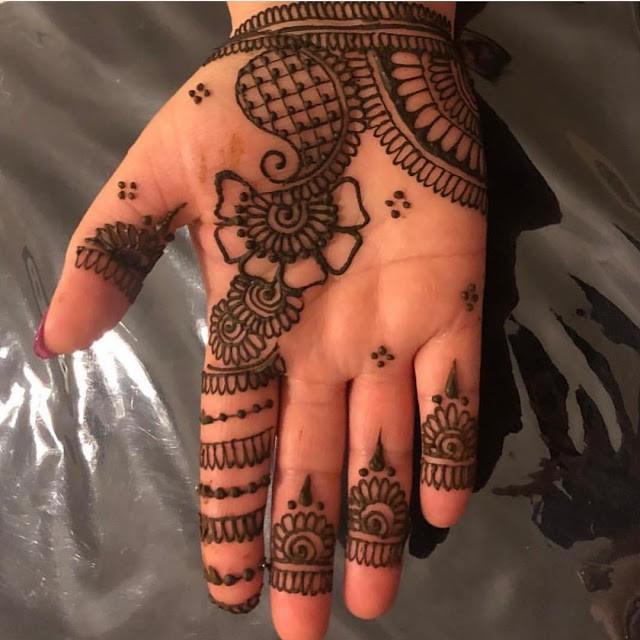 Arabic Mehndi Designs