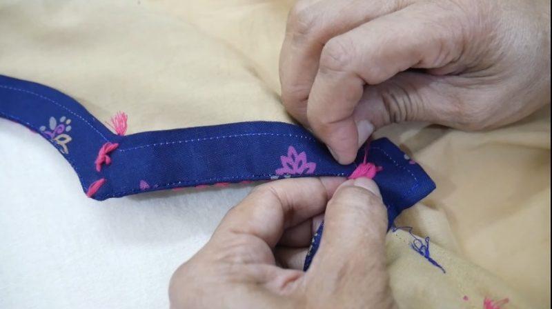 Neck Design for Kurti