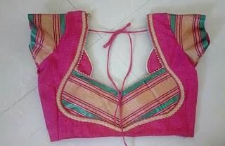 blouse back neck