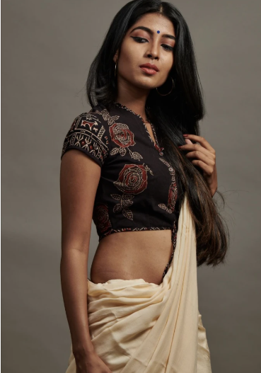 cotton blouse design