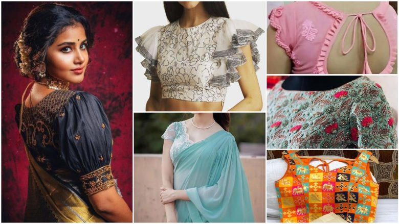 Latest blouse designs trending
