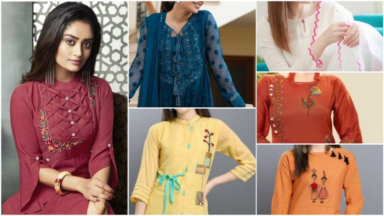 Stylish and fashionable kurti design